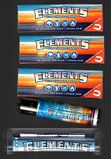 Buy 3 Packs ELEMENTS 1 1/4 Size Rolling Papers+79mm Roller Machine+Clipper Lighter