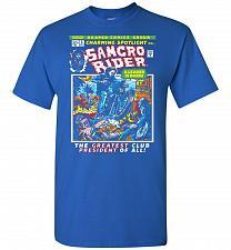 Buy Born Leader Samcro Rider Unisex T-Shirt Pop Culture Graphic Tee (S/Royal) Humor Funny