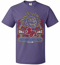 Buy Bjs Gentleghost's Club Adult Unisex T-Shirt Pop Culture Graphic Tee (S/Purple) Humor