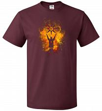Buy Praise The Sun Art Unisex T-Shirt Pop Culture Graphic Tee (XL/Maroon) Humor Funny Ner
