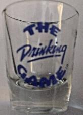 Buy The Drinking Game Clear Shot Glass 2 1/4 Inches Tall