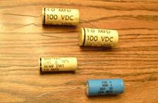 Buy Lot of 4: Vintage CDE Capacitors :: FREE Shipping