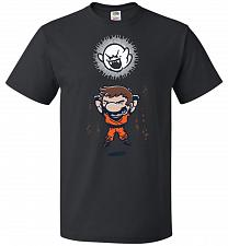 Buy Spirit Bomb Unisex T-Shirt Pop Culture Graphic Tee (4XL/Black) Humor Funny Nerdy Geek