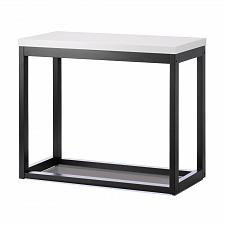 Buy *17525U - Modern Frame Black Long Wood Table Accent