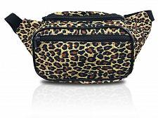 Buy Leopard Fierce Stylish Fanny Pack Waist Bag (Leopard Brown) Fast Shipping New