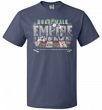 Buy Boardwalk Empire Unisex T-Shirt Pop Culture Graphic Tee (M/Denim) Humor Funny Nerdy G