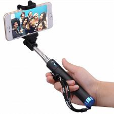 Buy Monopod Extendable Selfie Stick with bluetooth Mpow iSnap X 1 piece ios,android