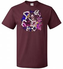 Buy Gear 4 Unisex T-Shirt Pop Culture Graphic Tee (6XL/Maroon) Humor Funny Nerdy Geeky Sh