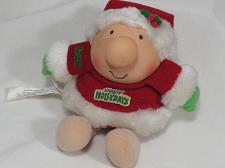 Buy Vintage ZIGGY Doll Plush Toy Jolly Hollydays Christmas Santa Collectible