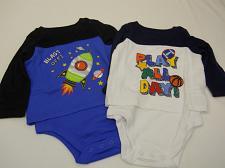 Buy Infant Boys Onepeice Creeper 2 Sets Rocket Play Ball Size 6-9M GARANIMALS