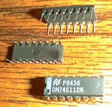 Buy Lot of 25: National Semiconductor DM74S112N