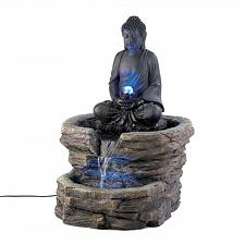 Buy D1156U - Zen Buddha Rock Look Serenity Water Fountain Yard Art