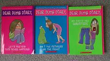 Buy Dear Dumb Diary Books Set # 1-3 Jim Benton Scholastic Paperback