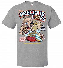 Buy Gollum's Precious Loops Unisex T-Shirt Pop Culture Graphic Tee (2XL/Athletic Heather)