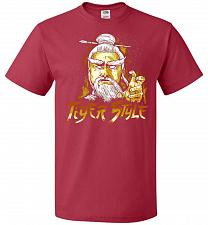 Buy Tiger Style Unisex T-Shirt Pop Culture Graphic Tee (L/True Red) Humor Funny Nerdy Gee