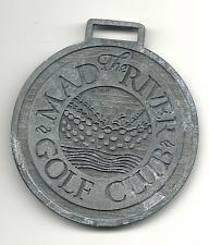 Buy Golf Bag Tag Mad River Golf Club Creemore Ontario Fob Guest VTG