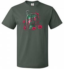 Buy Phantom Of The Empire Fett Unisex T-Shirt Pop Culture Graphic Tee (M/Forest Green) Hu
