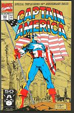 Buy CAPTAIN AMERICA #383 Marvel Comics 1st Print Gruenwald 1983 Lee Cover Ann. Size