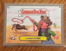 Buy Garbage Pail Kids Bns1 Silver Border -LASSO LUKE- 6a Sticker 2012 GPK