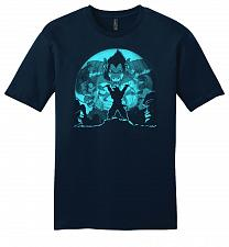 Buy Saiyan Sized Secret Youth Unisex T-Shirt Pop Culture Graphic Tee (L/New Navy) Humor F
