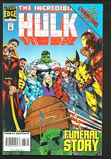 Buy INCREDIBLE HULK #434 Marvel Comics +Overpower Game Card 1995 FUNERAL NICK FURY