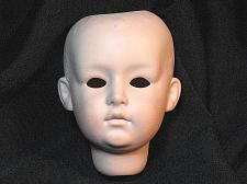 Buy Vintage Bisque Porcelain Doll Head Germany 8 Antique Repair New Old Stock NOS