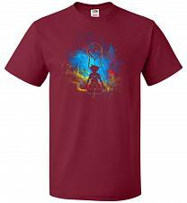 Buy Kingdom Art Unisex T-Shirt Pop Culture Graphic Tee (3XL/Cardinal) Humor Funny Nerdy G
