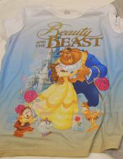 Buy DISNEY Girls Graphic Tees BEAUTY AND THE BEAST Size XL 14-16 Short Sleeves