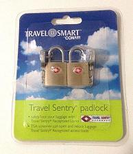 Buy Conair Travel Smart Luggage Padlock Pack of 2 Travel Sentry Approved New Sealed