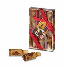 Buy :10645U - Wine Cork Scented Merlot 6pc Candle Set