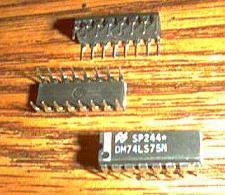 Buy Lot of 9: National Semiconductor DM74LS75N