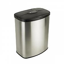 Buy Nine Stars DZT-8-1 Infrared Motion Sensor Lid Trash Can Stainless Steel 2.1 Gal
