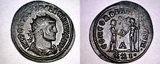 Buy 284-305AD Roman Imperial Diocletian AE Antoninianus - Cyzicus Mint - RIC-306 c33