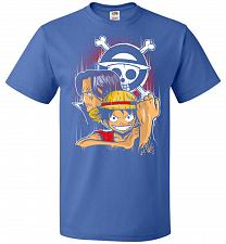 Buy Pirate King Unisex T-Shirt Pop Culture Graphic Tee (3XL/Royal) Humor Funny Nerdy Geek