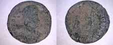 Buy 333-350AD Ancient Roman Imperial AE4 - Constans - Emperor Receiving Globe