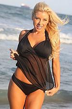 Buy UjENA Black Lovers Beach Open-Back Tankini #D298