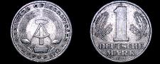 Buy 1956-A German Democratic Republic 1 Mark World Coin - East Germany