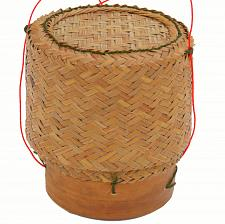 Buy Thai Lao Rattan and Bamboo Sticky Rice Serving Basket 5 Inch Diameter