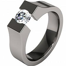 Buy coi Jewelry Black Titanium Ring - JT1422A(Size:US12)
