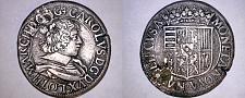 Buy 1629 German States Lorraine 1 Testone World Silver Coin -Karl III Nancy -Plugged