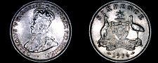 Buy 1936(m) Australian 6 Pence World Silver Coin - Australia - George V