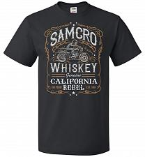 Buy Sons of Anarchy Samcro Whiskey Adult Unisex T-Shirt Pop Culture Graphic Tee (2XL/Blac