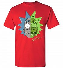 Buy Get Toxic Rick and Morty Unisex T-Shirt Pop Culture Graphic Tee (M/Red) Humor Funny N