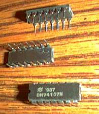 Buy Lot of 25: National Semiconductor DM74107N