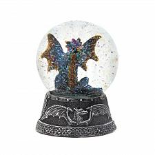 "Buy *18451U - Blue Dragon Figure 4"" Tall Water Globe"