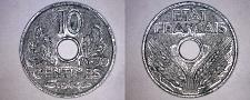 Buy 1943 French 10 Centimes World Coin - German Occupied France