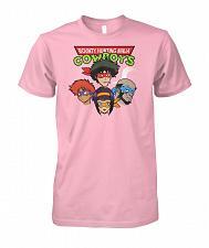 Buy Bounty Hunting Ninja Cowboys Unisex T-Shirt Pop Culture Graphic Tee (5XL/Light Pink)