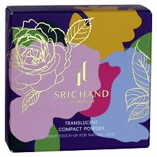 Buy Srichand Translucent Compact Powder Daily Touch Up Natural Look 9 grams