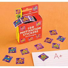 Buy T1024U - 10ct 180 Motivation Stickers 10 Designs Dispenser Box