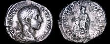 Buy 226AD Roman Imperial Severus Alexander AR Denarius Coin - Rome Mint